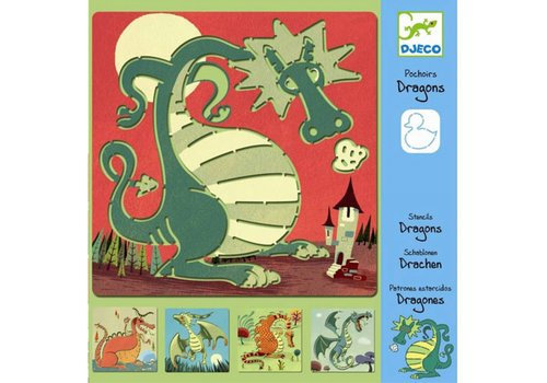 DJECO - Sjabloon - Dragons