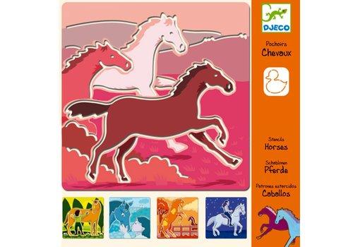 DJECO - sjabloon - Les chevaux