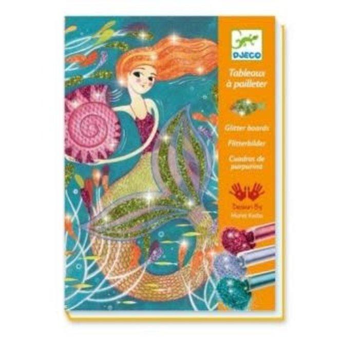 DJECO - Creatief met Glitter - Zeemeerminnen