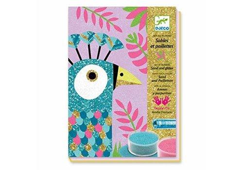 DJECO - Sable Colores -  Eblouissants Oiseau