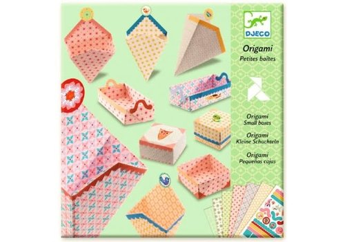 DJECO - Origami - Petites Boites