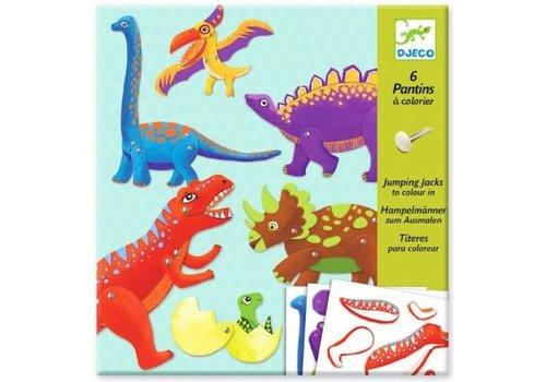 DJECO - Pantins - Jumping Jacks - Dino