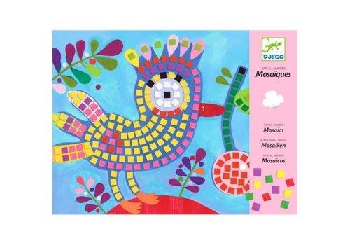 DJECO - Mosaic - Oiseau et coccocinelle