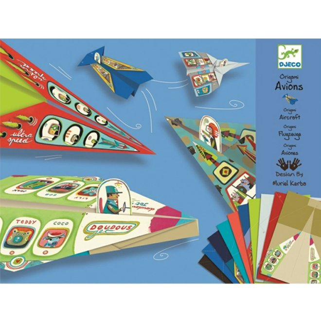 DJECO - Origami - Vliegers