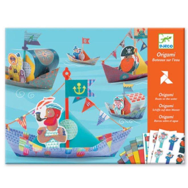 DJECO - creatief Met Papier - Zeilbootjes 6+
