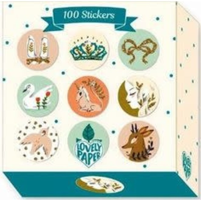 DJECO - 100 Stickers - Lucille