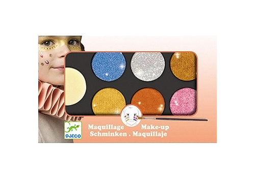 DJECO - Party - Maquillage - Pallet Mettalic