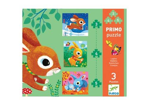 DJECO - Puzzel Primo - Lapins