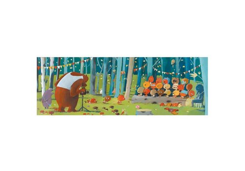 DJECO - Puzzel Gallery - Forest Friends