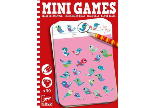 Djeco DJECO - Mini Games - Celui Qui Manque