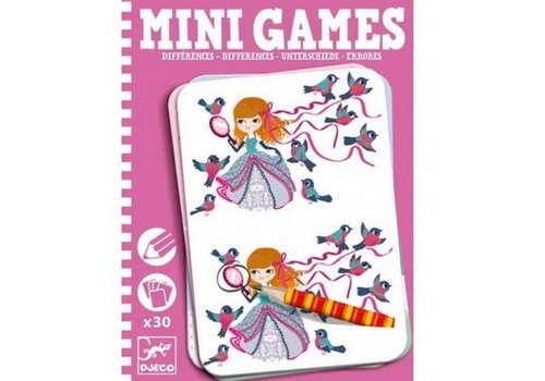 Djeco DJECO - Mini Games -  Les différences de Léa