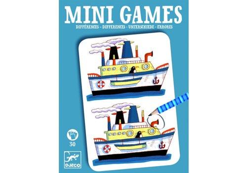 Djeco DJECO - Mini Games - Les différences de Rémi
