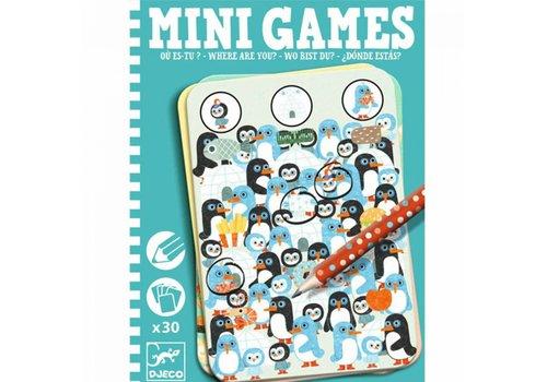 Djeco DJECO - Mini Games - Ou est tu?