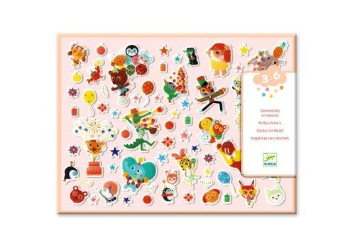 DJECO - Mini stickers - La fête