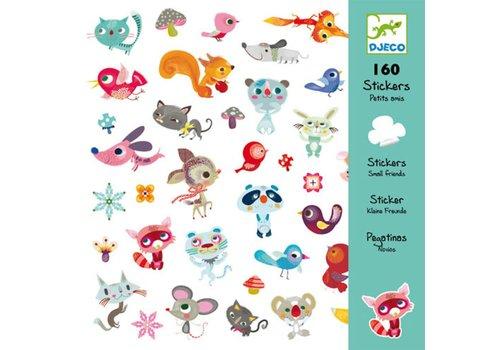 Djeco DJECO - 160 Stickers - Vriendjes