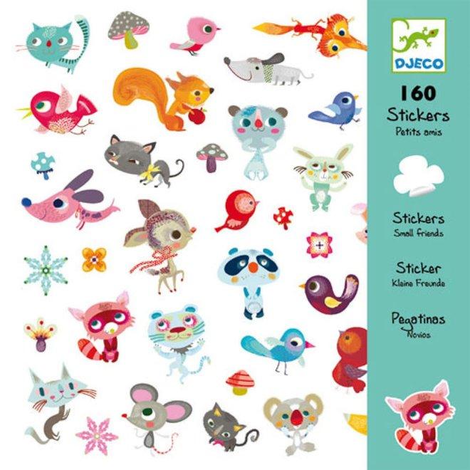 DJECO - 160 Stickers - Vriendjes