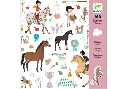 DJECO - stickers - Chevaux