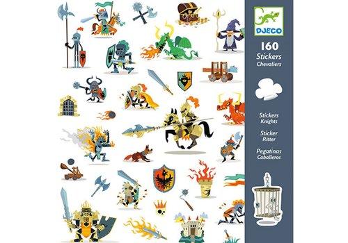 Djeco DJECO - 160 Stickers - Ridders