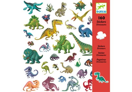 Djeco DJECO - 160 Stickers - Dinosaurus
