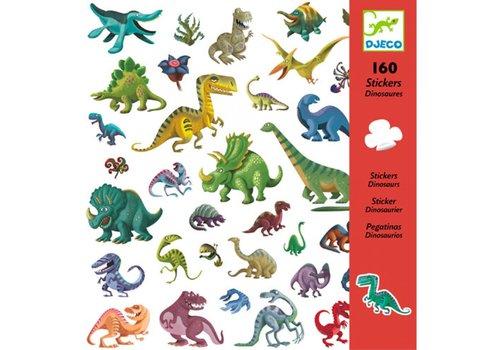 DJECO - stickers - Dinosaurus