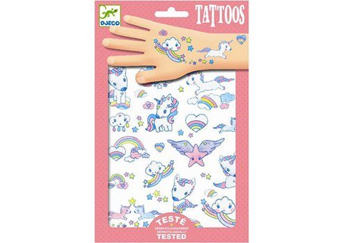 DJECO - Tattoo - Licorns