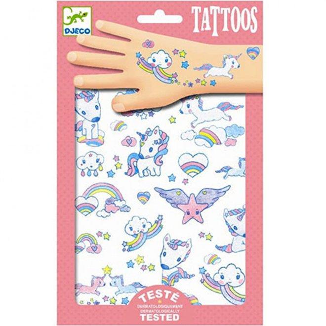 DJECO - Tattoo - Eenhoorns