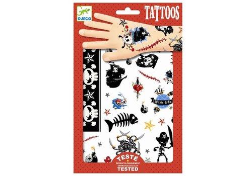 DJECO - Tattoo -  Pirates