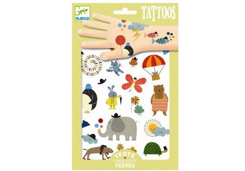 DJECO - Tattoo - Jolies petits choses