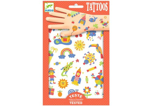 DJECO - Tattoo - So Cute