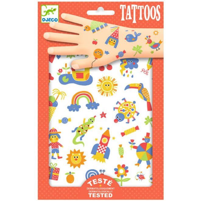 DJECO - Tattoo - Zo Schattig