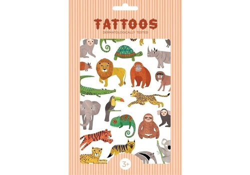 PETIT MONKEY - Tattoo - Jungle Animals