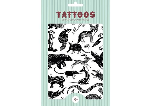 PETIT MONKEY - Tattoo - Black Animals