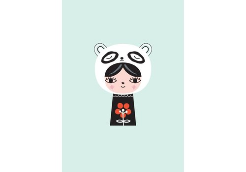 PETIT MONKEY - Postkaart - Miss Panda