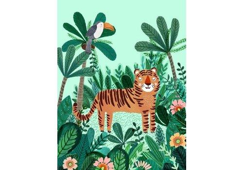 PETIT MONKEY - Poster 50x70 - Tiger