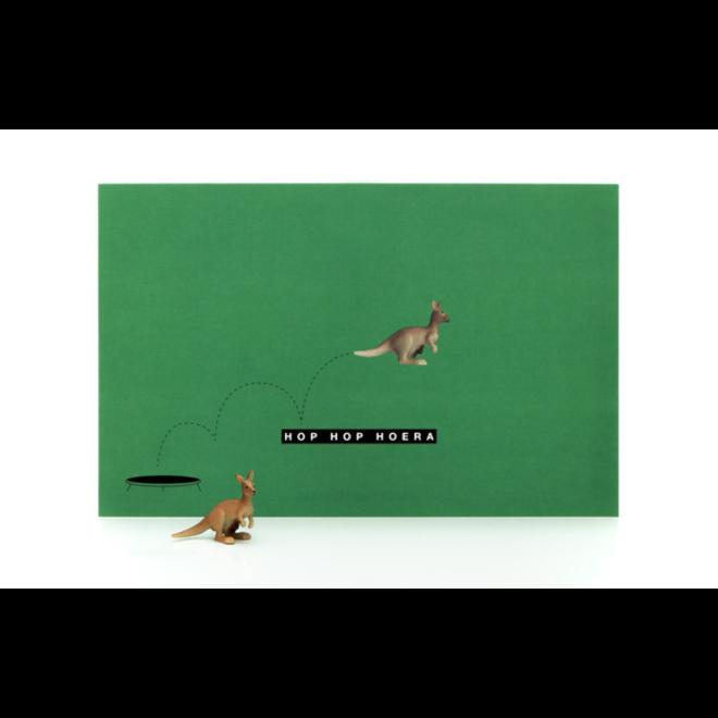 LEUKE KAARTJES - Luckies - Hop Hop Hoera - Kangoeroe