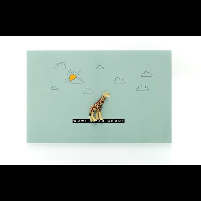 LEUKE KAARTJES - Luckies - Wow! al zo groot - Giraf