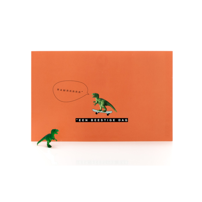 LEUKE KAARTJES - Luckies - Een beestige dag  - Dino