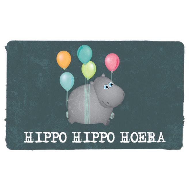 LEUKE KAARTJES - Hippo Hippo Hoera