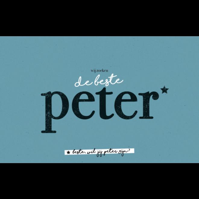 LEUKE KAARTJES - De beste peter