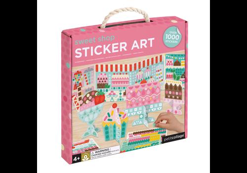 PETIT COLLAGE - Sticker Art - Sweet Shop