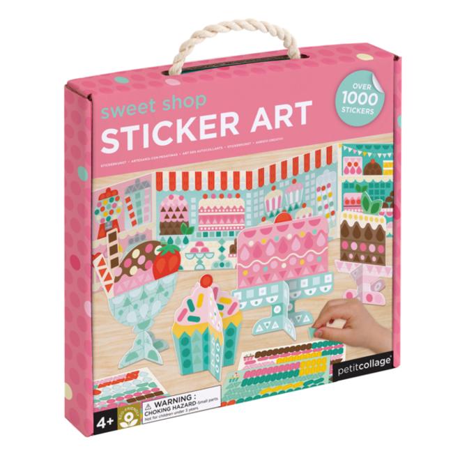 PETIT COLLAGE - Creatief met Stickers - Zoetigheden