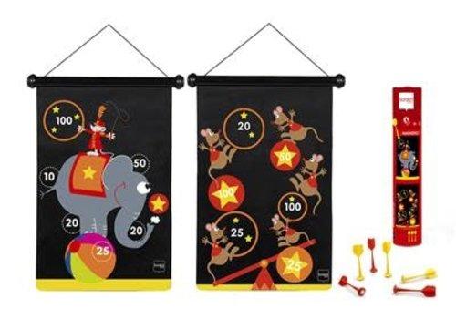SCRATCH - Magnetic Darts - Circus 55x36cm