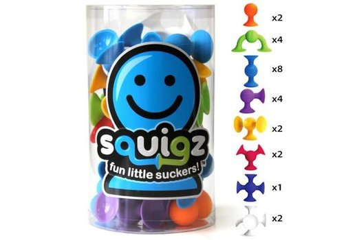 Fat Brain Toys FAT BRAIN TOYS - Squigz - Starters set