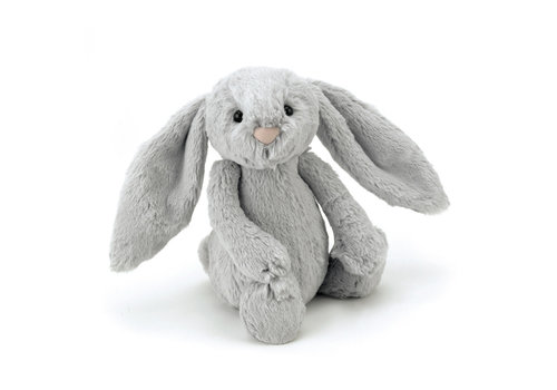 JellyCat JELLYCAT - Bashful Bunnies Small - Silver