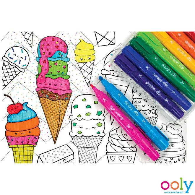 OOLY -  Viltstiften - Icecream Dubbele Dip