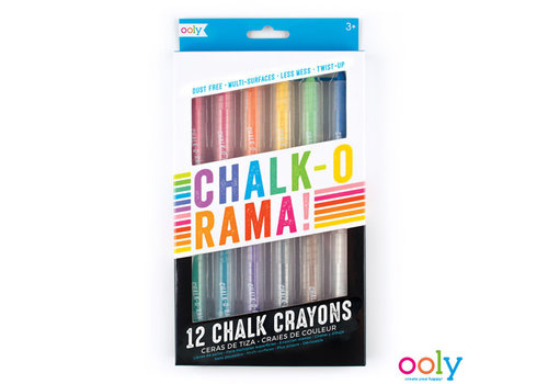 Ooly OOLY -  Chalk-O-Rama Dustless