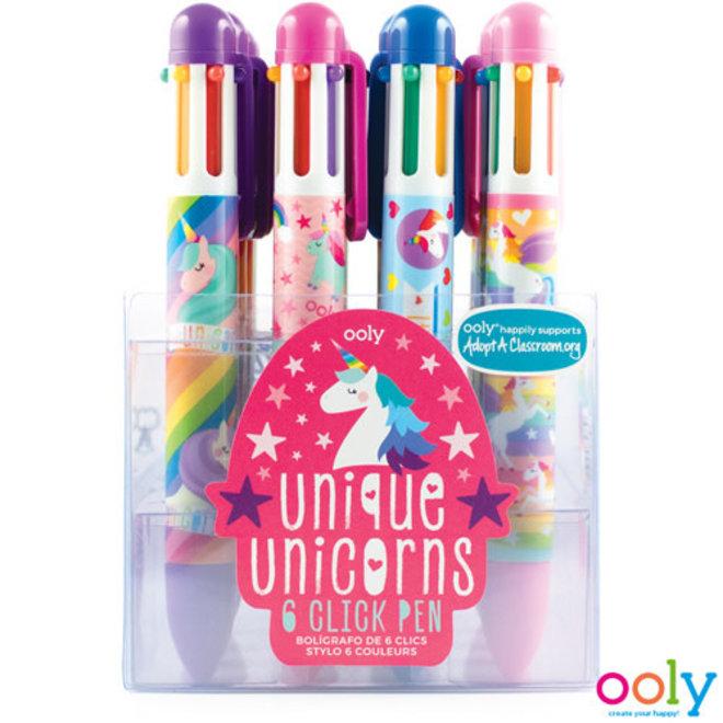 OOLY - Schrijfgerei - Regenboogpen Unicorn