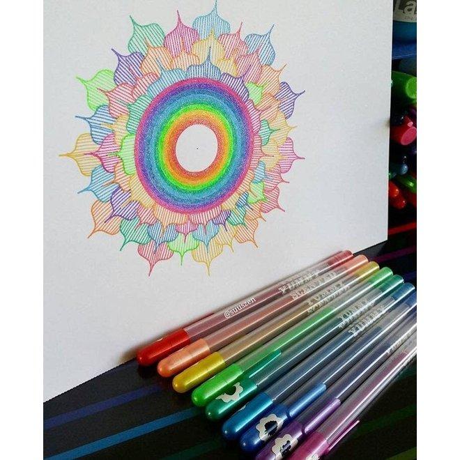 OOLY - Schrijfgerei - Glitter pennen met geur