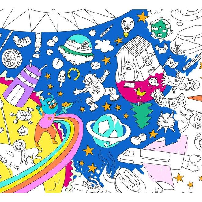 OMY - Kleurposter - Cosmos (100x70cm)