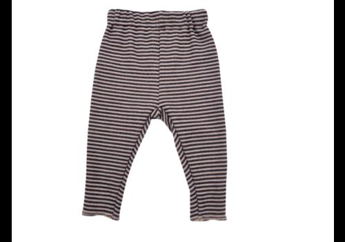BAMBOOM BAMBOOM - Pants - Stripe Pink/Grey
